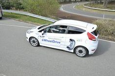 Fiesta eWheelDrive, with in-wheel motors