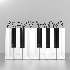 Gorgeous packaging for Marais Piano cakes
