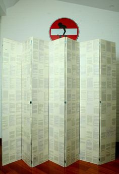 Separè, book, pages, Alice in wonderland, design,