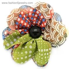 Our hair clips are adorable. They also have a convenient pin on the back as well. .add it to a coat, sweater or hat.  just $5