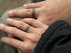 wedding ring tattoos couples sevgili yüzük parmağı dövmeleri