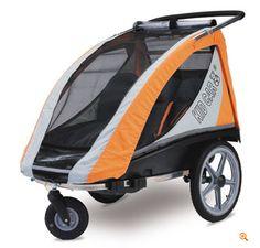 Przyczepka rowerowa KidCar Comfort SL