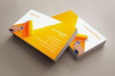 szablon wizytówki Malarz Office Supplies