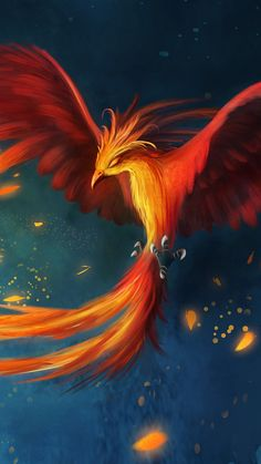 Fantasy/Phoenix Wallpaper ID: 603425 - Mobile Abyss Phoenix Painting, Phoenix Drawing, Phoenix Art, Phoenix Quotes, Ibong Adarna, Phoenix Wallpaper, Phoenix Images, Mythical Birds, Cute Fantasy Creatures
