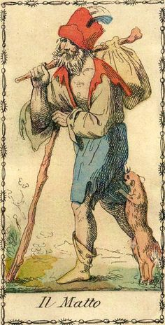 The Fool - Ancient Tarot of Lombardy