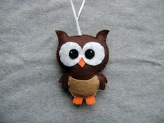Owl Ornament - FREE SHIPPING (US Domestic) on Etsy, $137.93