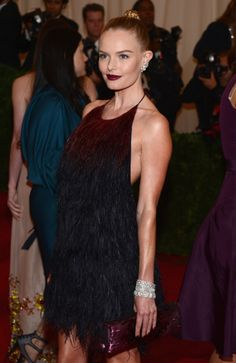mkrelations:    Kate Bosworth in Gucci and Fred Leighton Jewels at Met Gala 2012