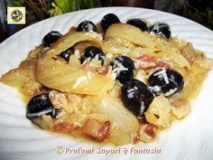 Finocchi in padella olive guanciale e grana  Blog Profumi Sapori & Fantasia
