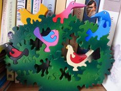 Jigsaw Puzzles For Kids, Scroll Saw, Birthday Candles, Colors, Clearance Toys, Colour, Color, Paint Colors, Hue