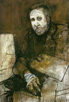 Carlos Alonso: Retrato de L.E.S ( Lino Enea Spilimbergo, pintor )