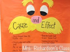 Teaching Cause and Effect through read aloud