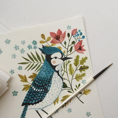 "Oana Befort ""Blue Jay"""