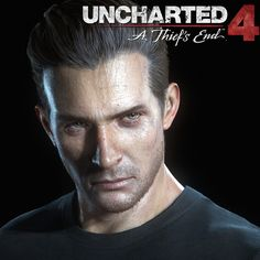 Rafe Adler from Uncharted Rafe Adler, A Thief's End, Uncharted Series, Jak & Daxter, Nathan Drake, Boy Face, Game Concept, Portraits, 2d Art