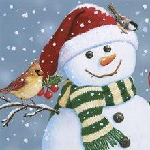 """Santa Snowman"" - painting by William Vanderdasson, via Art Licensing Diy Christmas Garland, Gold Christmas Decorations, Christmas Art, Christmas Canvas, Christmas Scenes, Christmas Graphics, Christmas Patterns, Dollar Store Christmas, Christmas Paintings"