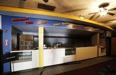 The concession stand of the State Theatre.