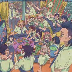 Me Anime, I Love Anime, Anime Demon, Anime Guys, Anime Art, Dragon Slayer, Slayer Anime, Anime Scenery, Boku No Hero Academy