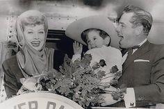 Lucy, Desi, and Desi Jr.