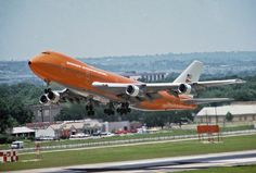 Braniff International Boeing 747-127 N601BN, known as 'Fat Albert' to one and all, looking graceful as she lifts off the tarmac.