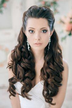 Wedding Hair Down Soft Curls