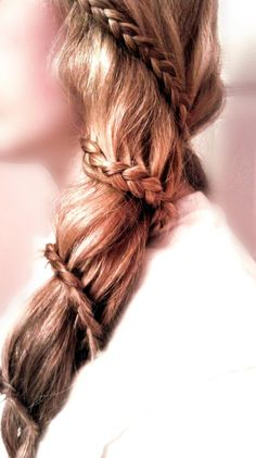 Spiral braid... the most difficult braid I have ever tried. But it looks SOOO awesome :)