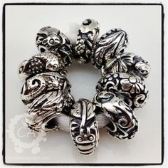 Trollbeads 2009 Limited Edition China Collection
