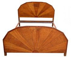 Art Deco Sunray Double Bed Antiques Atlas Tears Of Amber
