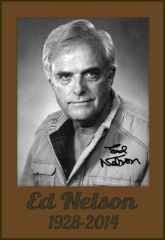 "Ed Nelson  -  starred as Dr. Michael Rossi from 1964-1969 in the ABC prime-time soap, ""Peyton Place""...starred in the 1-man show ""Give 'em Hell Harry""   -  guest stared on  ""Murder, She Wrote""...""Rawhide""... ""Gunsmoke""...&  ""Wagon Train""...etc. -  hosted ""The Ed Nelson Show,"" a syndicated daytime talk in 1969  -  was a regular on the short-lived 1970-71 crime drama ""Silent Force""... played Sen. Mark Denning in the CBS daytime soap ""Capitol""  -  died at his home in Greensboro, N.C. at 85"