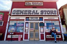 The General Store, still in operation, was established in Randsburg, CA, in the Mojave Desert, around 1896, just months after the discovery of gold in the town.