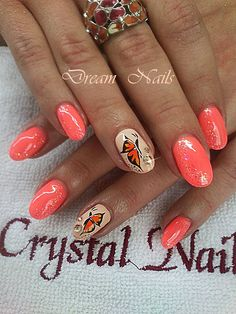Butterfly Nail, Glitter Nails, Summer Nails, Class Ring, Nail Art, Facebook, Summery Nails, Glittery Nails, Nail Arts