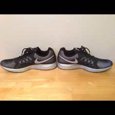 Size 13 Black And Silver Pegasus 31 Running Nikes