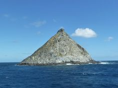 Pyramid Rock, Chatham Islands, (750km to the east of New Zealand's South Island)  New Zealand
