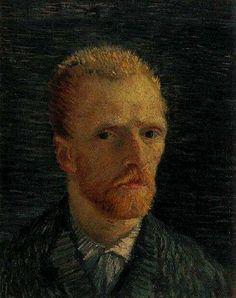 Vincent Van Gogh - Post Impressionism - Self-Portrait - Autoportrait
