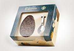 Starbucks - Embalagem Pascoa by Giovanni Giacomini, via Behance