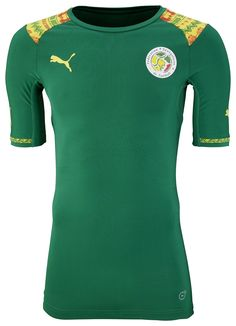 Senegal (Fédération Sénégalaise de Football) - 2014/2015 Puma Away Shirt