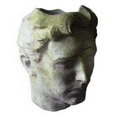 Greek Head Bust Garden Planter-Art Sculpture by Orlandi Statuary Large Garden Planters, Stone Planters, Head Planters, Planter Garden, Balcony Garden, Steampunk Design, Garden Accessories, Sculpture Art