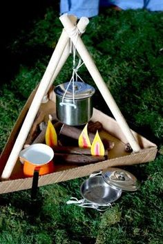 indoor camping ideas for kids & indoor camping ideas for kids ; indoor camping ideas for kids activities ; indoor camping ideas for kids tent ; indoor camping ideas for kids food ; indoor camping ideas for kids sleepover Camping Dramatic Play, Dramatic Play Area, Dramatic Play Centers, Role Play Areas, Camping Theme, Camping Ideas, Camping Hacks, Camping Outdoors, Camping Essentials