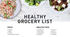 Grocery List: Foods You Should Always Have in the House