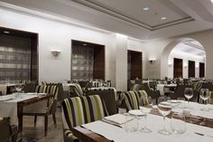 restaurant in Italy at UNA Hotel Roma
