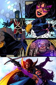 Art from Convergence: Detective Comics - Helena Wayne (pre-Crisis) is back!!!