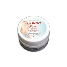 Other Tattoos and Body Art: 15G Cream Of Feel Better Now Topical Anesthetic - Less Pain -> BUY IT NOW ONLY: $32.95 on eBay!