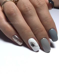- Novelty and trends in manicure - Page 54 of 119 - Nagelkunst Design - halloween nails Nail Designs Pictures, Acrylic Nail Designs, Nail Art Designs, Square Nail Designs, Nails Design, Nail Manicure, Toe Nails, Coffin Nails, Manicure Ideas