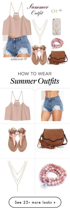 """""""Summer Outfit #17"""" by deborah-97 on Polyvore featuring Estella Bartlett, Humble Chic, TIBI, Rebecca Minkoff and Kate Spade"""