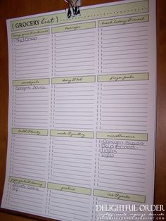 """Love this :-) Great for the """"list making"""" person!"""