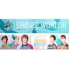 [Concert Goods] SHINee - Shinee World II Slogan(Towel) $15.73