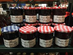 These Jellies' are made in France to make you that perfect crape or toast. They come in four flavors Blackcurrant, Four Fruits, Wild Berry, and Strawberry.