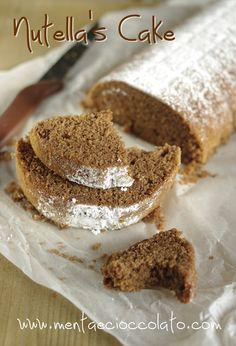 Nutella's Cake from my blog  http://www.mentaecioccolato.com/2012/11/nutellas-cake-cake-alla-nutella-e-non.html