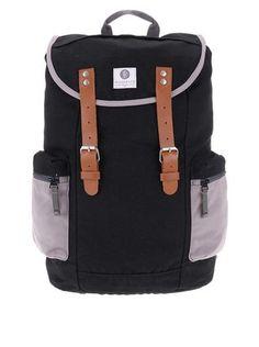 Ridgebake - Šedo-černý větší batoh s kapsami  Liam - 1