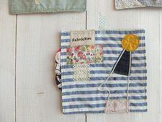 handmade * zakka | fabrickaz + idees  handkerchiefs