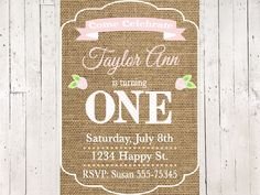 A personal favorite from my Etsy shop https://www.etsy.com/listing/506648704/burlap-pink-and-white-rosebirthday