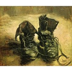 A Pair of Shoes VIIVanGogh Oil Painting for sale on overArts.com